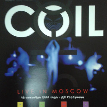 Coil – Live In Moscow; DVD