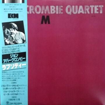 Abercrombie Quartet – M; Vinilo Japonés Simple