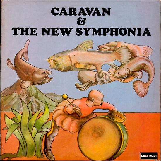 """Caravan & The New Symphonia; 12"""" LP"""