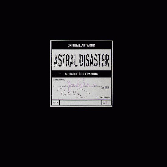 """Coil - Astral Disaster; 12"""" LP"""
