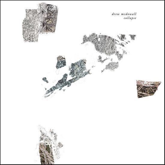 "Drew McDowall - Collapse; 12"" LP"