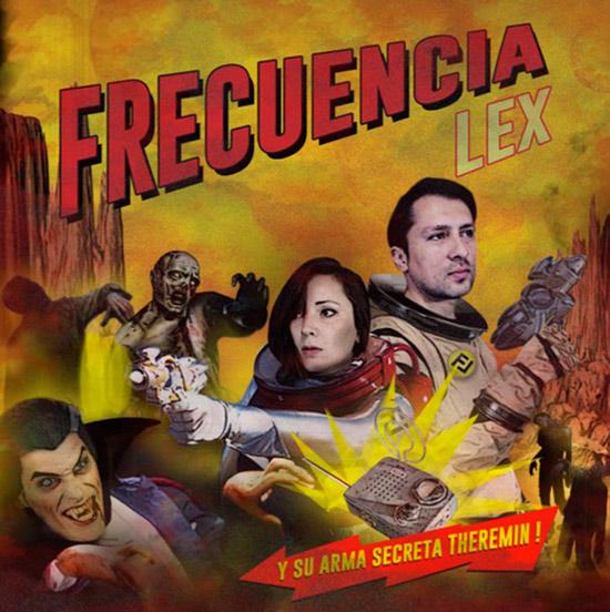 Frecuencia Lex - De Película; CD-R