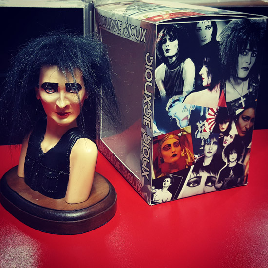 Siouxsie Sioux - Mazuela Work Shop Sculpture