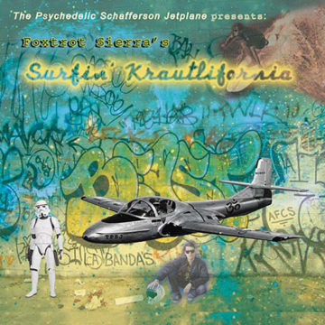 Psychedelic Schafferson Jetplane, The – Surfin´Krautlifornia; Vinilo Simple