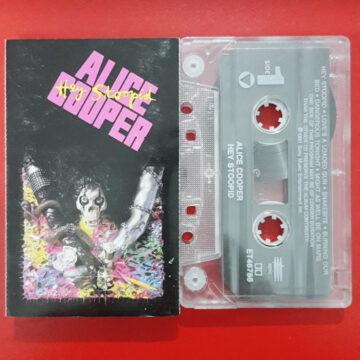 Alice Cooper – Hey Stoopid; Cassette