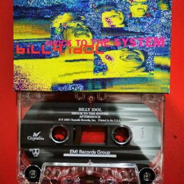Billy Idol – Shock the System; Cassette Single