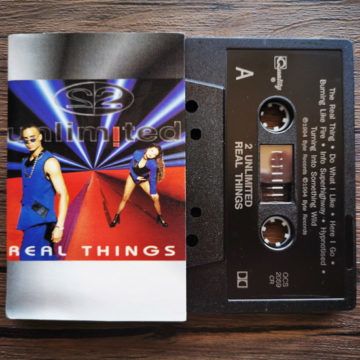 2 Unlimited – Real Things; Cassette