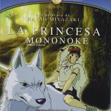 La Princesa Mononoke; Blu-Ray