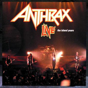 Anthrax – The Island Years Live; CD