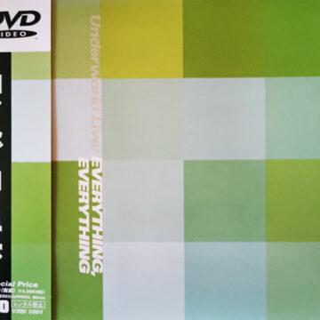 Underworld  – Everything Everything (Underworld Live); DVD