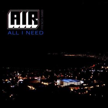 AIR – All I Need Maxi Single; Vinilo Simple