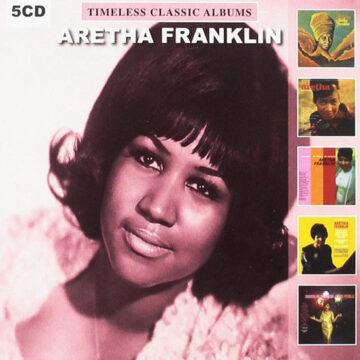Aretha Franklin -Timeless Classic Albums; CD Quíntuple