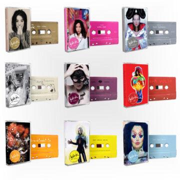 Björk – Cassette Bundle – Pack de 9 Cassettes