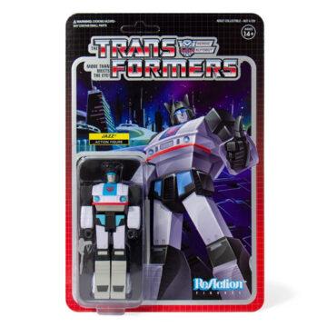 Reaction Figure – Transformers – Jazz