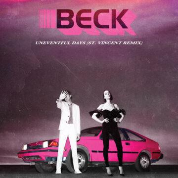 Beck – No Distraction / Uneventful Days (Remixes) 7″; Vinilo Simple