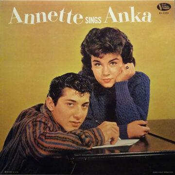 Annette – Annette Sings Anka; Vinilo Simple