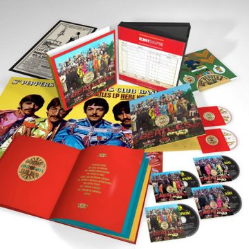 Beatles, The – Sgt. Pepper's Lonely Hearts Club Band Box Set; CD Cuádruple + BluRay + DVD