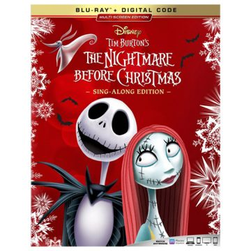 The Nightmare Before Christmas; Blu-ray + Digital Code
